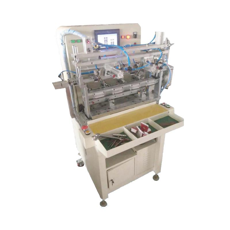 The stator winding machine automatically