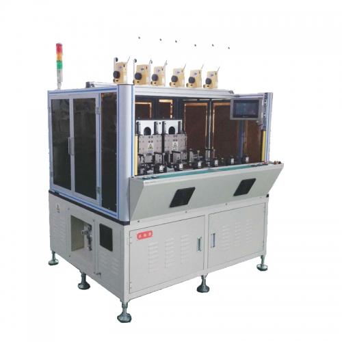 Automatic six-station winding machine